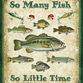 So Many Fish Sign Poster by JQ Licensing