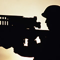 Soldier Holds A Stinger Anti-aircraft Print by Stocktrek Images