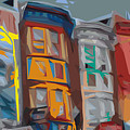 South Street Revisited Print by Kevin  Sherf