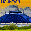 Space Mountain Poster by David Lee Thompson
