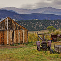 Spanish Peaks Ranch 2 Print by Charles Warren