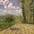Spring Print by Camille Pissarro