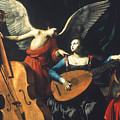 ST. CECILIA AND THE ANGEL Print by Granger