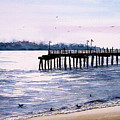 St. Simons Island Fishing Pier by Sam Sidders