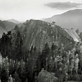 Stawamus Chief, Squamish, British Columbia, Canada, Tilt-shift Poster by Brian Caissie