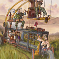 Steam Powered Rodent Remover Print by Jeff Brimley