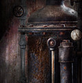 Steampunk - Handling Pressure  Print by Mike Savad