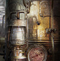 Steampunk - Silent into the night Print by Mike Savad