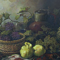 Still-life with quinces Poster by Tigran Ghulyan
