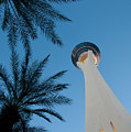 Stratosphere Tower Print by Andy Smy
