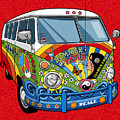 Summer of Love Print by Ron Magnes