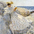 Summer Sunlight Print by Childe Hassam