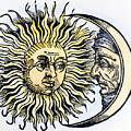 SUN AND MOON, 1493 Print by Granger
