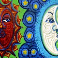 Sun and Moon Print by Genevieve Esson