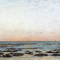 Sunset Poster by Gustave Courbet