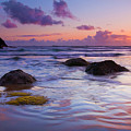 Sunset Ripples Print by Mike  Dawson