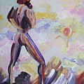 Surveying Creation Print by Suzanne  Marie Leclair