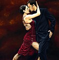 That Tango Moment Poster by Richard Young