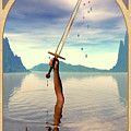 The Ace of Swords Print by John Edwards