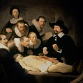 The Anatomy Lesson of Doctor Nicolaes Tulp Poster by Rembrandt Harmenszoon van Rijn