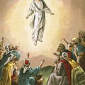 The Ascension Print by English School