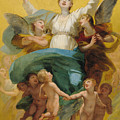 The Assumption of the Virgin Print by Pierre Paul Prudhon