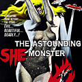 The Astounding She-monster, 1-sheet Print by Everett