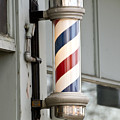 The Barber Shop 4 Print by Angelina Vick