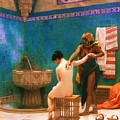 The Bath Print by PG REPRODUCTIONS
