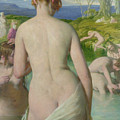 The Bathers Poster by William Mulready