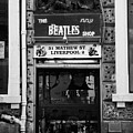 the beatles shop in mathew street in liverpool city centre birthplace of the beatles merseyside  Poster by Joe Fox