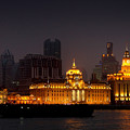 The Bund - More than Shanghai's most beautiful landmark Print by Christine Till