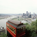 The Cable Car To Mount Washington Poster by Lynn Johnson