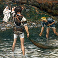 The Calling of Saint Peter and Saint Andrew Print by Tissot