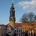 The Castle - Weimar - Thuringia - Germany Print by Christine Till