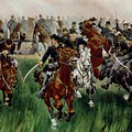 The Cavalry Print by WT Trego