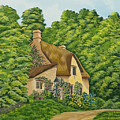 The Charm Of Wiltshire Print by Charlotte Blanchard