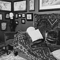 The Couch In The Consulting Room Print by Everett