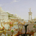 The Course of Empire - The Consummation of the Empire Print by Thomas Cole