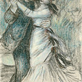 The Dance Poster by Pierre Auguste Renoir