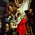 The Descent from the Cross Poster by Peter Paul Rubens