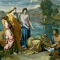 The Finding of Moses Print by Nicolas Poussin