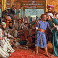 The Finding of the Savior in the Temple Print by William Holman Hunt