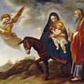 The Flight into Egypt Print by Carlo Dolci