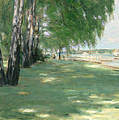 The Garden of the Artist in Wannsee Poster by Max Liebermann