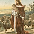 The Good Shepherd Print by John Lawson
