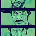 The Good the Bad and the Ugly Print by Giuseppe Cristiano