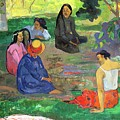 The Gossipers Poster by Paul Gauguin