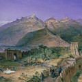 The Great Wall of China Poster by William Simpson