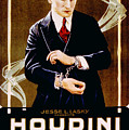 The Grim Game, Harry Houdini, 1919 Poster by Everett